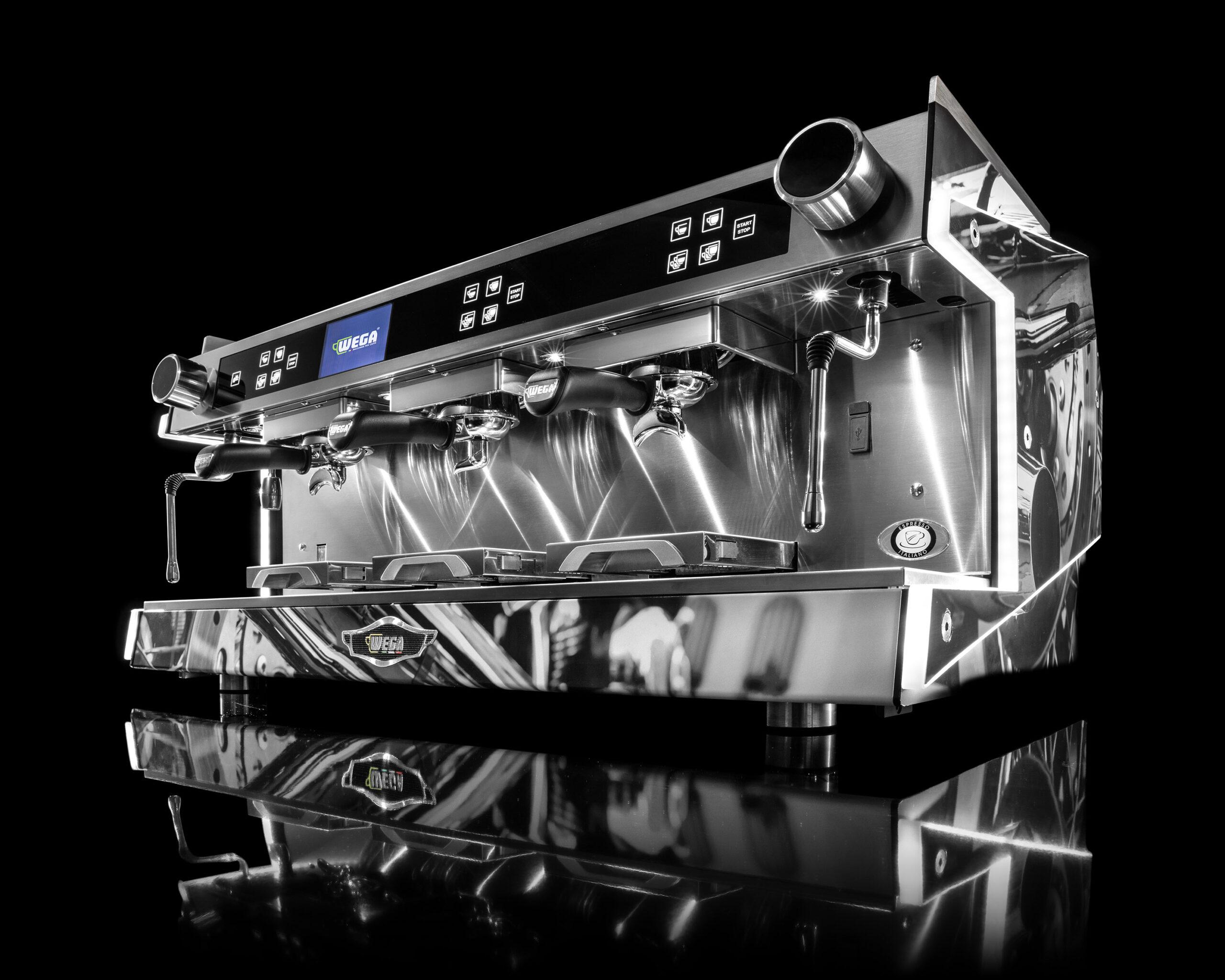 Siebträgermaschine WEGA Urban Vista1 Serigraphy - Kaffeemaschinen Göppingen | Rocco Secco