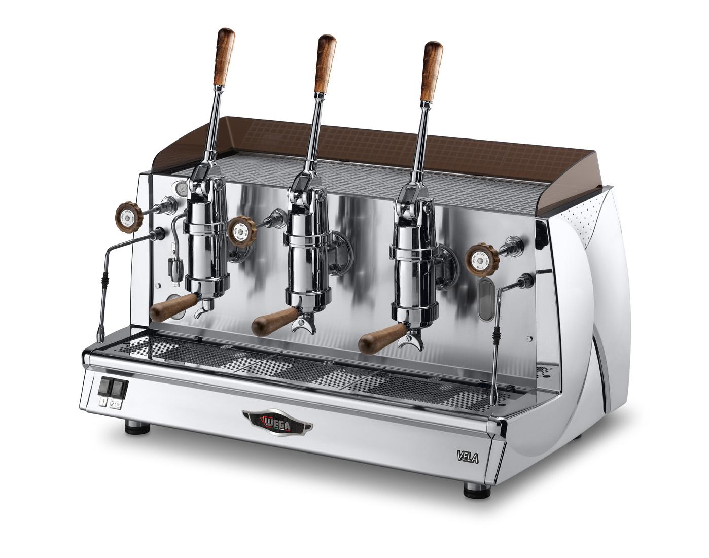 Siebträgermaschine WEGA Vela Vintage - Kaffeemaschinen Göppingen | Rocco Secco