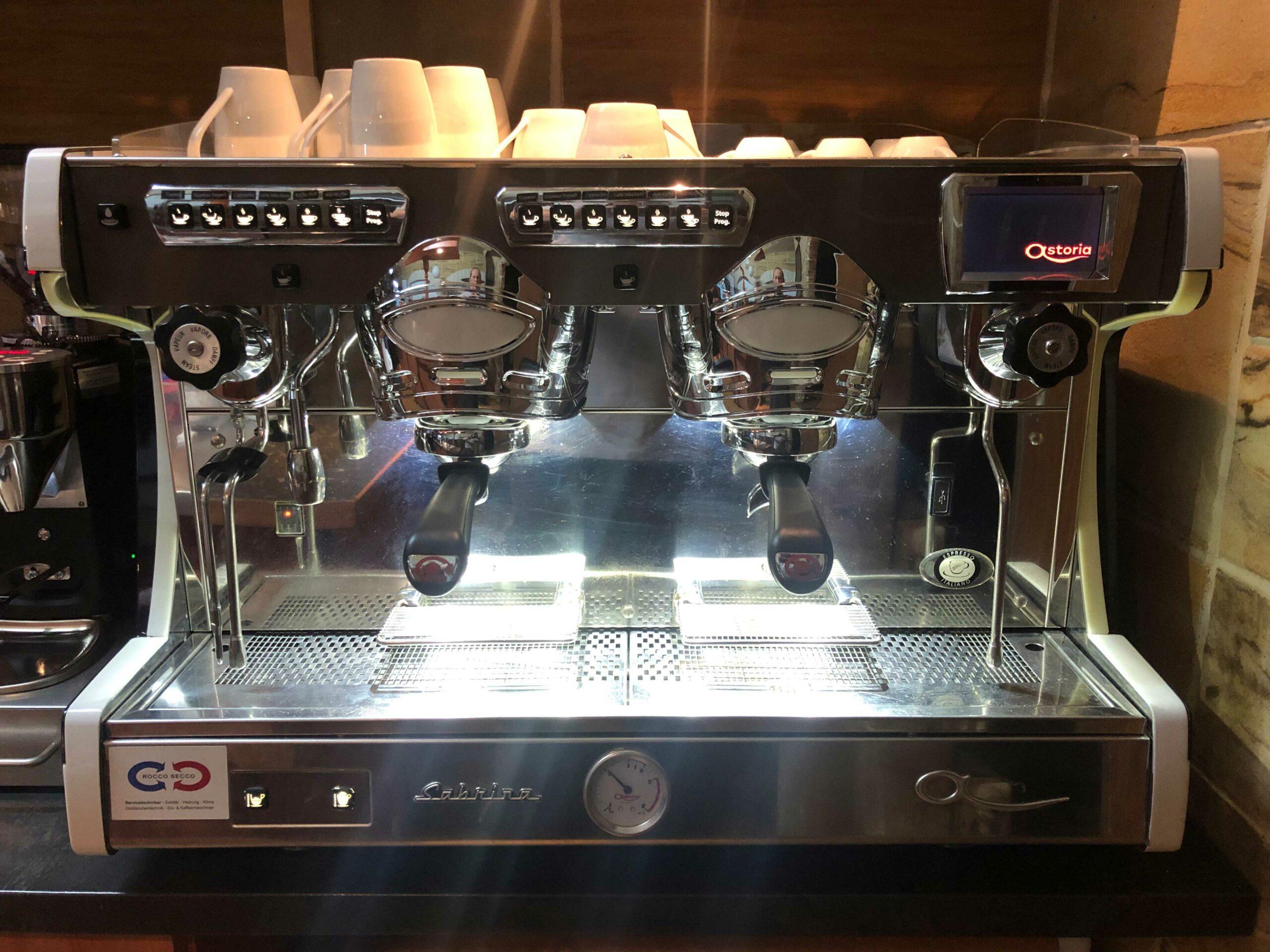 Kaffeemaschinen Göppingen - gebrauchte Kaffeemaschinen Rocco Secco